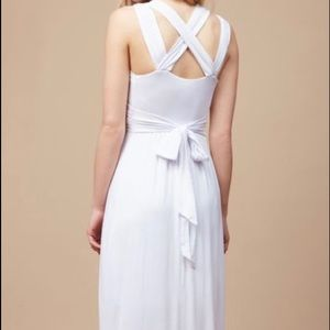 Motherhood Maternity Dresses - Motherhood White Maternity Dress